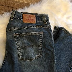 Lucky Jeans Button Fly Easy Rider Dark Wash Jeans